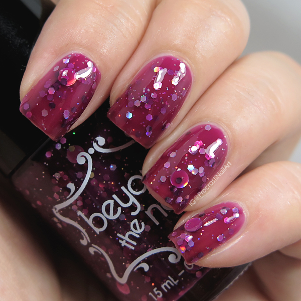 Beyond the Nail Cranberry Jelly