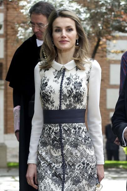 Royal Couture Princess Letizia In Felipe Varela