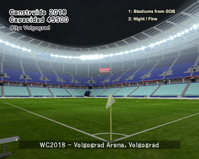 PES 6 Stadiums Volgograd Arena ( World Cup 2018 )