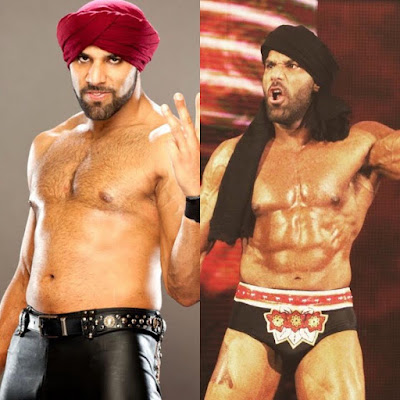 Jinder Mahal new physique