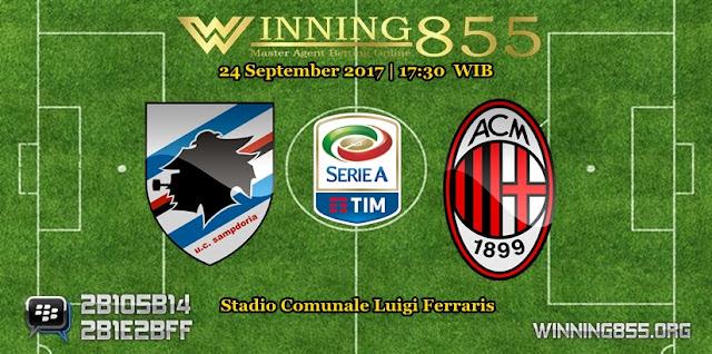Prediksi Skor Sampdoria vs Milan