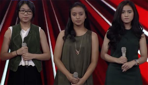 Kaneishia Anak Dede Yusuf The Voice Kids Indonesia 21 Oktober 2016
