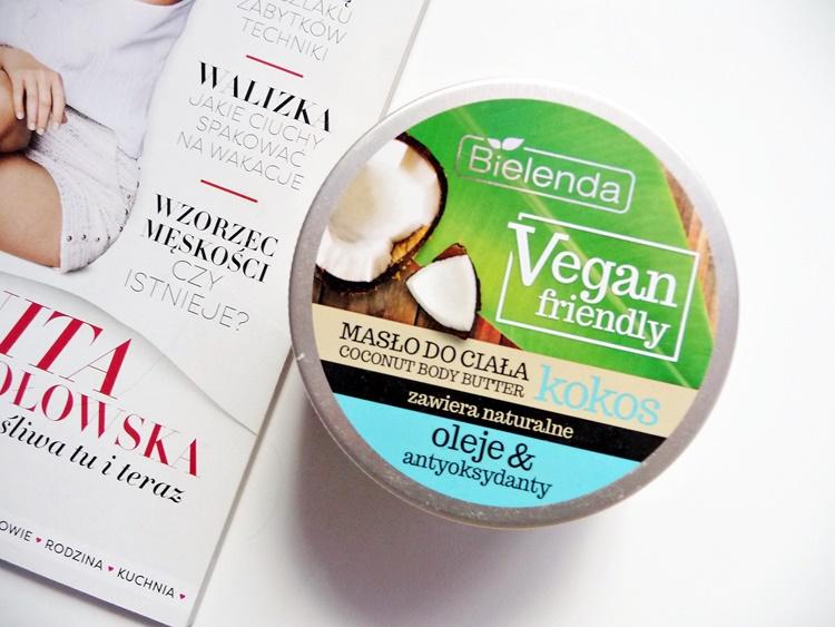 Bielenda masło kokosowe do ciała vegan friendly