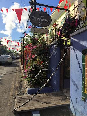 Drawbridge in Heritage Village, Nassau - curiousadventurer.blogspot.com