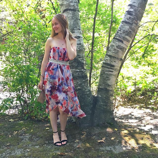 Krisp Floral Midi Dress