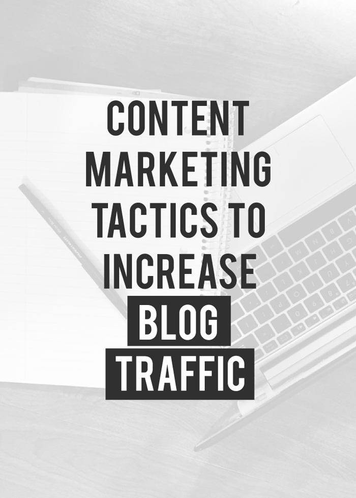 5 Content Marketing Traffic Boosting Tactics