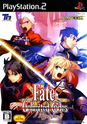 Fate Unlimited Codes PS2 GAME ISO