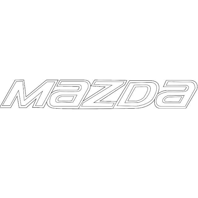 Chữ Mazda| Mazda 6 2014-2017 Emblem| Chữ Mazda trên cốp xe Mazda 6