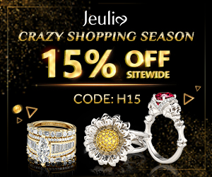 Jeulia Women's wedding bands