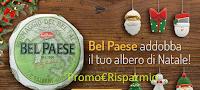 Logo Addobbo di Natale omaggio con BelPaese Galbani