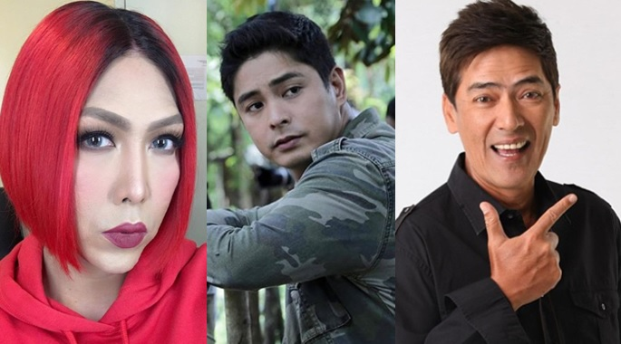 MMFF 2018 Vice Ganda, Coco Martin and Vic Sotto
