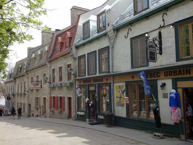 Roteiro 18 dias de trem pelo leste do Canadá - Old Quebec/Quartier Petit Champlain, Quebec