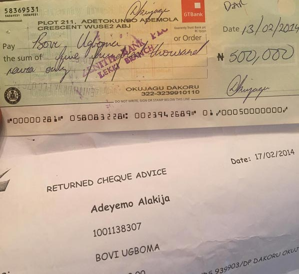 Comedian Bovi writes lady who scammed him with 500k dud cheque