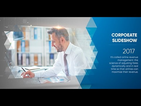 Clean Corporate Slideshow - After Effects Project Files Free