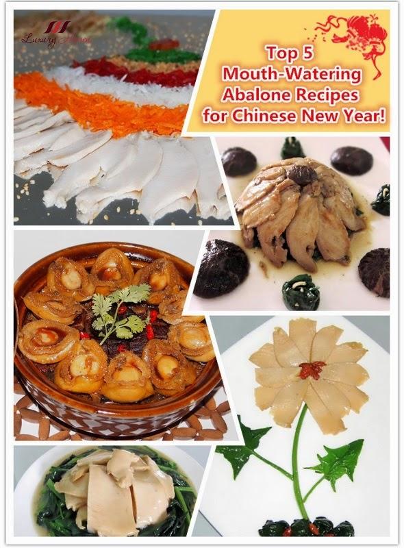 chinese new year abalone recipe ideas