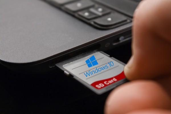 كيفية تثبيت أي ويندوز من بطاقة الميموري الخاصة بهاتفك  و بدون usb او dvd