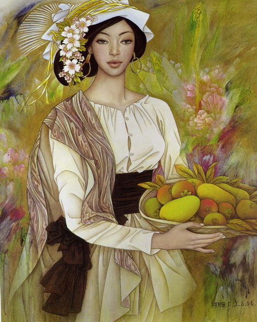 Paintings By Chinese Artist Feng Chiang-Jiang