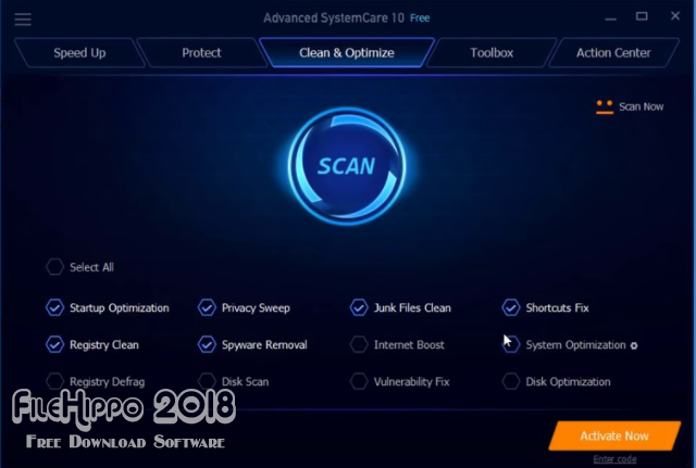 IObit Advanced SystemCare 2018 Free Download