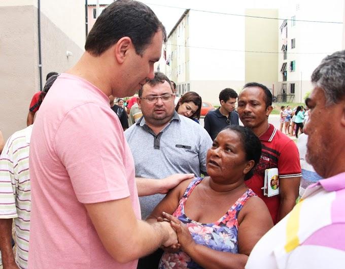 Deputado Moses Rodrigues visita distritos de Sobral