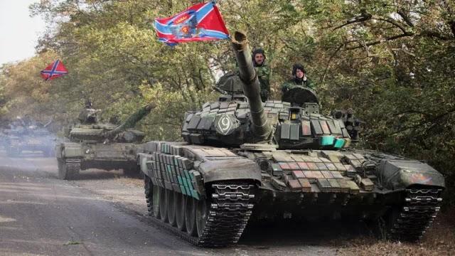 «Φωτιά» πήρε η Νέα Ρωσία – Ολόκληρος ο χάρτης των συγκρούσεων – Απογειώθηκαν ρωσικά αεροσκάφη και ελικόπτερα