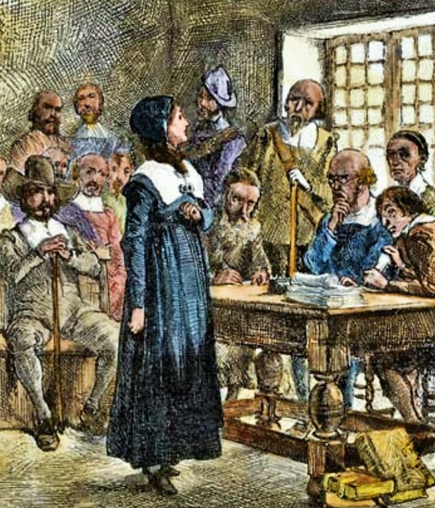 Anne Hutchinson challenged many beliefs of the Puritan leaders of the Massachusetts Bay Colony. Shortly after her arrival in Massachusettes in 1634 ... & 17C American Women: 2017