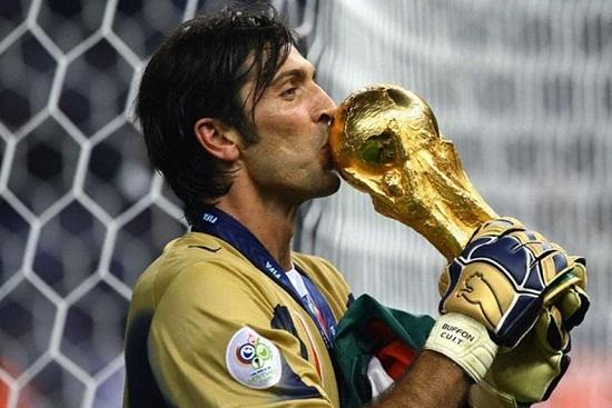 Hình ảnh Gianluigi Buffon hướng đến kỷ lục 6 lần dự World Cup