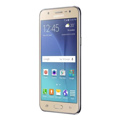 Smartphone Samsung Galaxy J5 Duos possui tela de 5.0 polegadas com a tecnologia Super Amoled