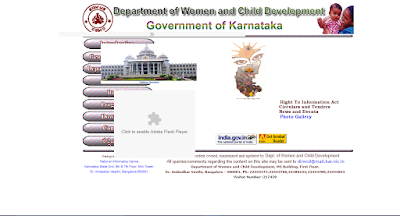 Department of Woman and Child Development in Karnataka