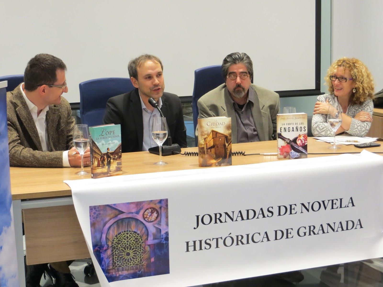 JORNADAS DE NOVELA HISTORICA EN GRANADA