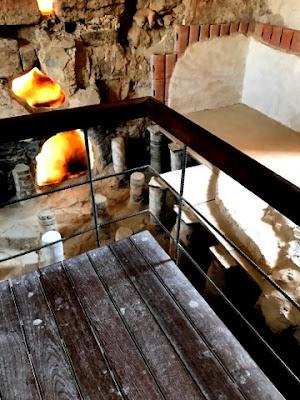 Masada Israel heated laconicum Roman Bath