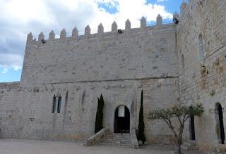 Castillo del Papa Luna en Peñíscola.