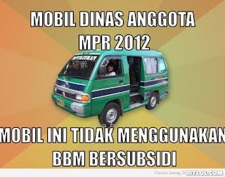 DP BBM Gambar Mobil car funny mobil dinas mpr
