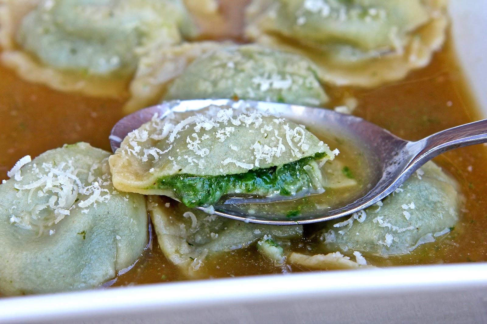 Gluten Free Alchemist: Spinach & Cheese Ravioli (gluten free) - A ...