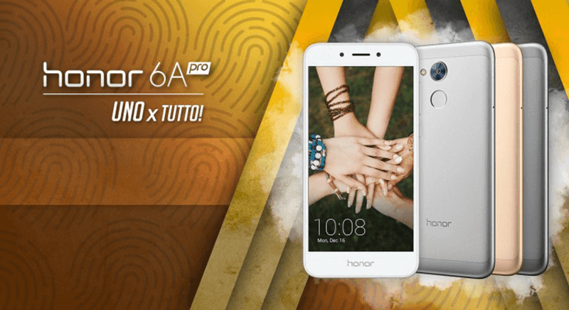Honor 6A Pro w/ Snapdragon 430 launched in Italy