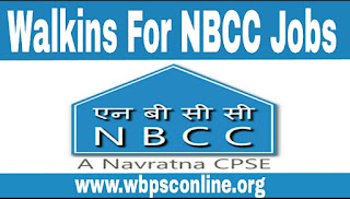 Jobs in NBCC - Walkins for Engineer & Assistant Posts in National Buildings Construction Corporation Limited - image Walkins%2Bfor%2BNBCC%2BJobs on http://wbpsconline.org