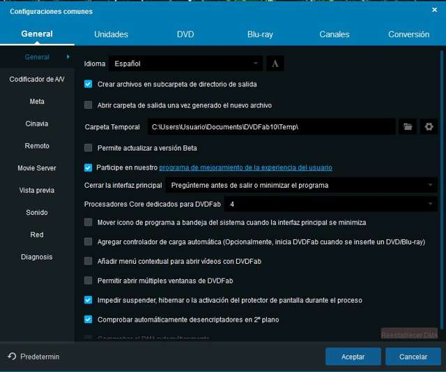 DVDFab All-In-One 10.0 Full Español