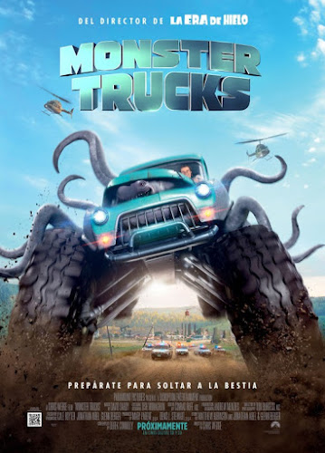 Monster Trucks (BRRip 720p Dual Latino / Ingles) (2016)