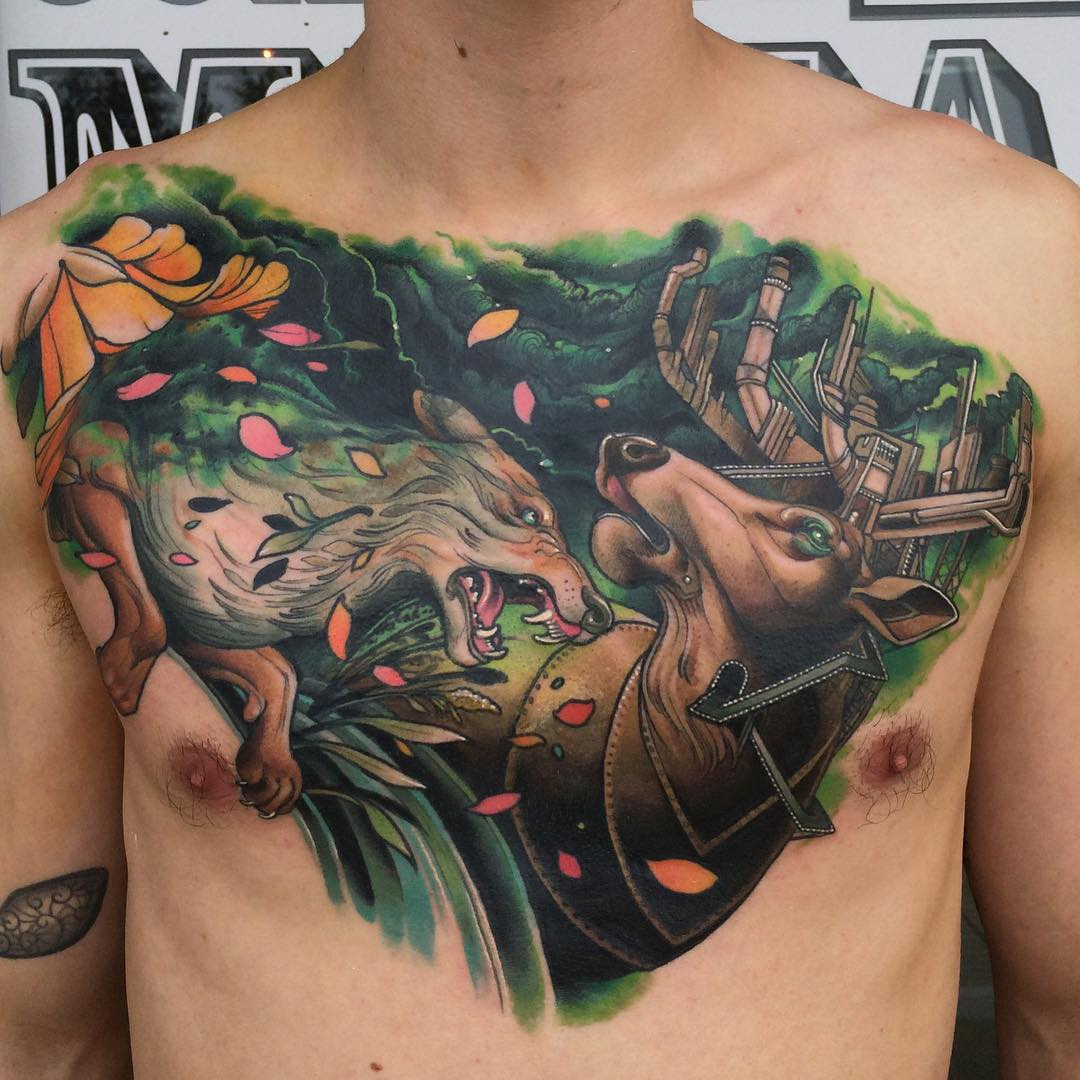 Tattoo: Ideas For Best Tattoos: Chest Tattoos