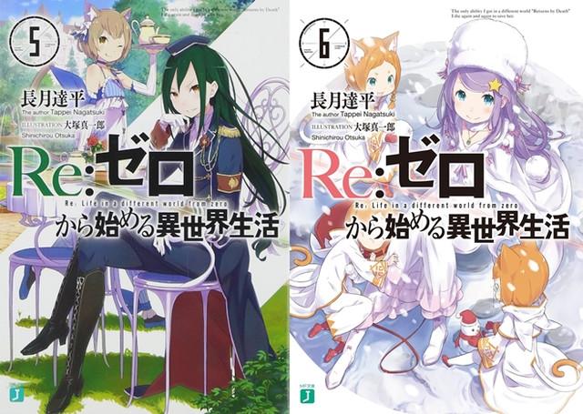 Re:Zero Light Novel Volume 5 e 6