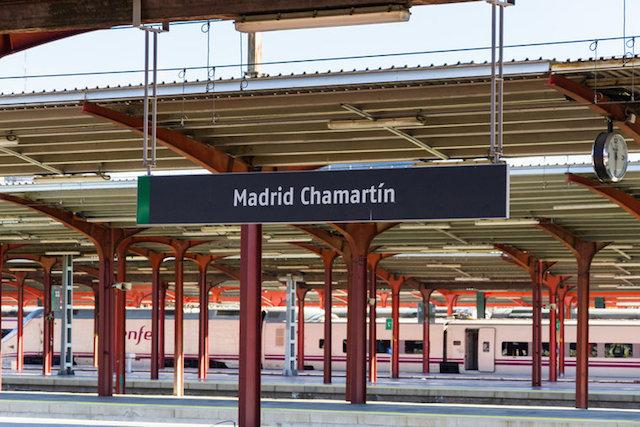 Estação Chamartín em Madri