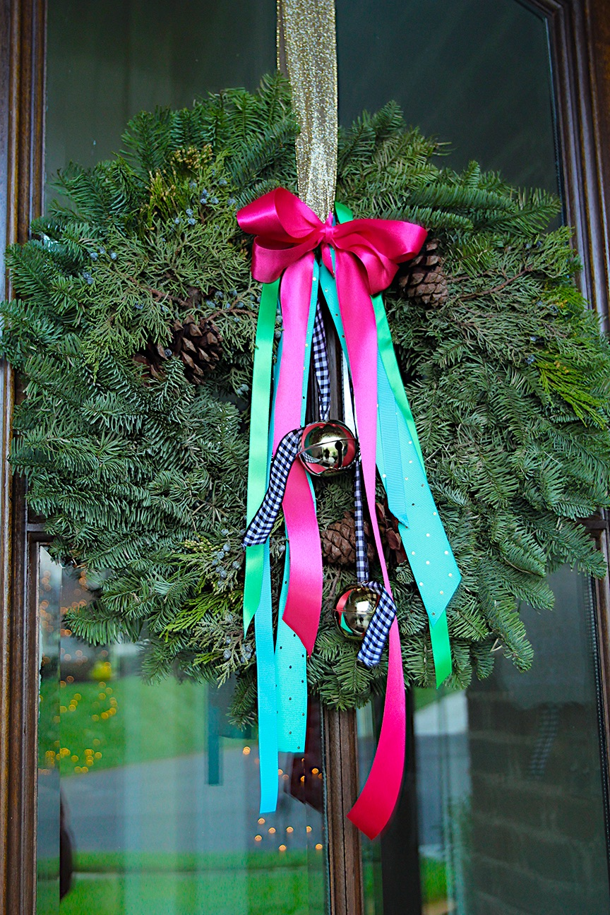 Awe Inspiring The Christmas Wreaths Are Here With Bells On Less Than Door Handles Collection Olytizonderlifede