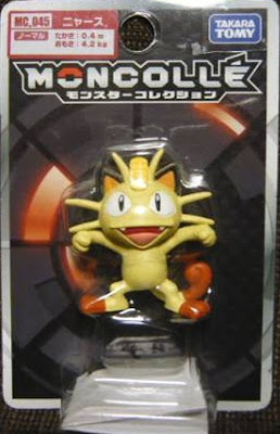 Meowth figure Takara Tomy Monster Collection MONCOLLE MC series