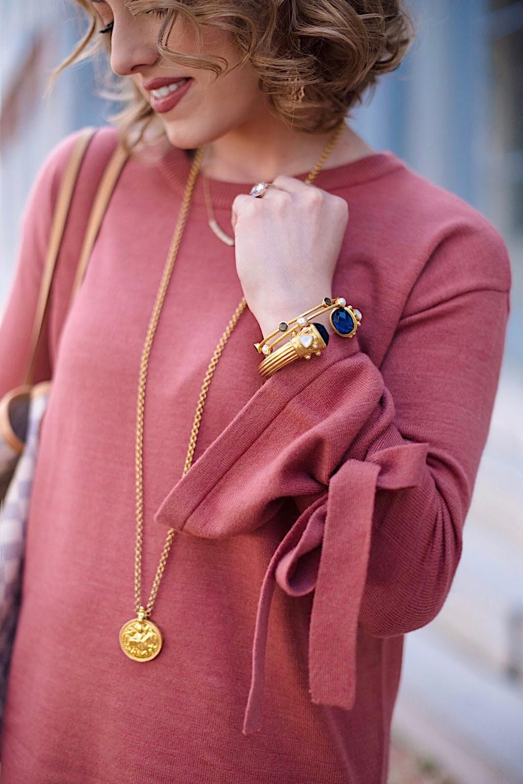Julie Vos Necklace and Bracelets - Something Delightful Blog