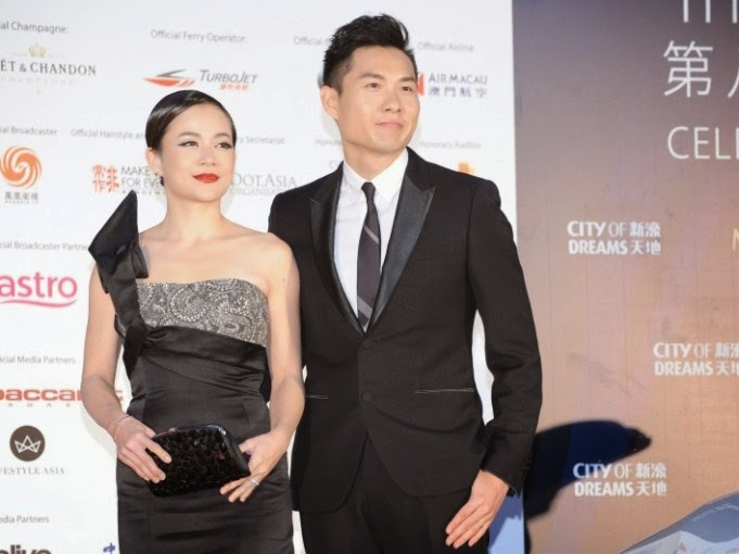Actress Yeo Yann Yann and director Anthony Chen (Ilo Ilo) arrives together at the red carpet
