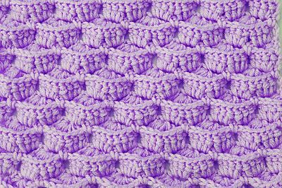 4 - Crochet- IMAGEN Puntada a crochet para mantas y cobijas-Majovel Crochet