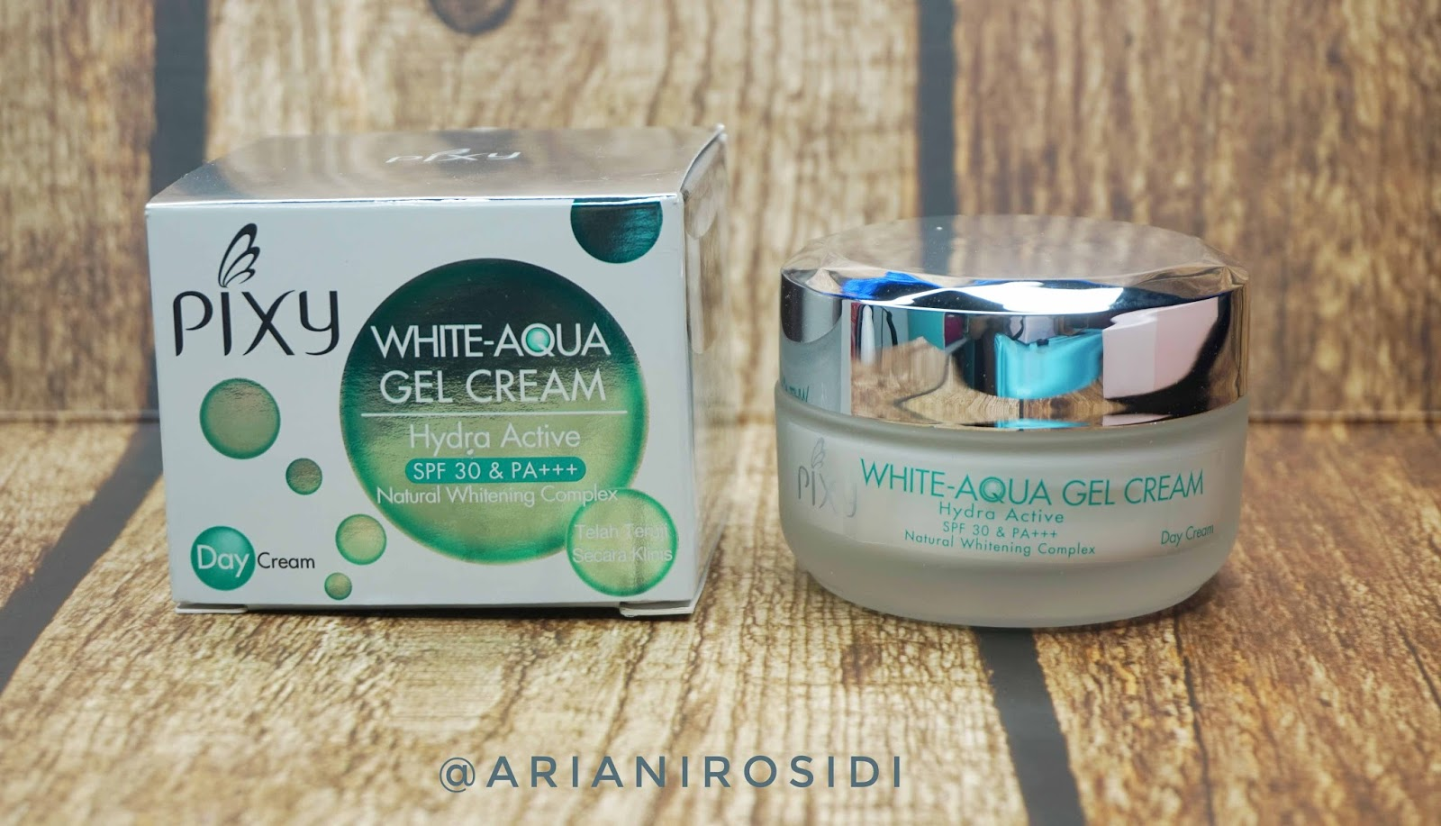 pixy white aqua gel cream