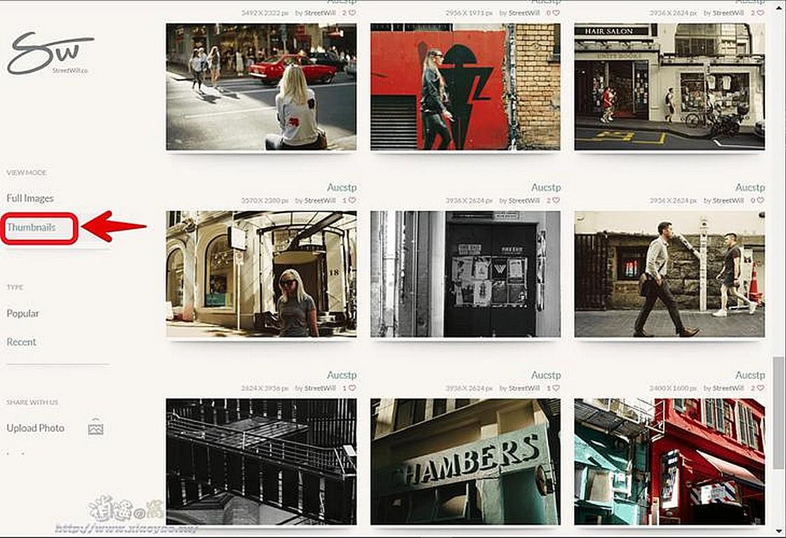StreetWill 免費高解析度照片