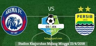 Arema FC Jamu Persib Bandung Tanpa Didampingi Pelatih Kepala