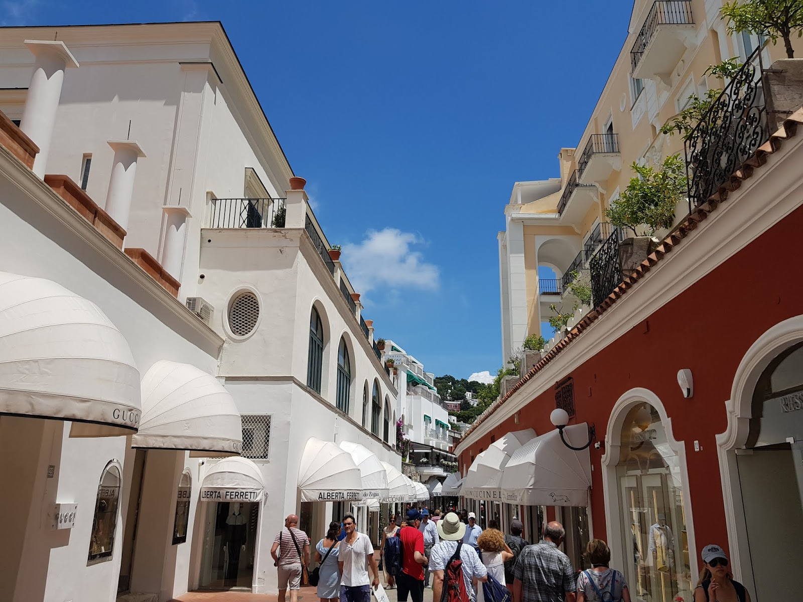 italy holiday capri shopping designer what learn during travel