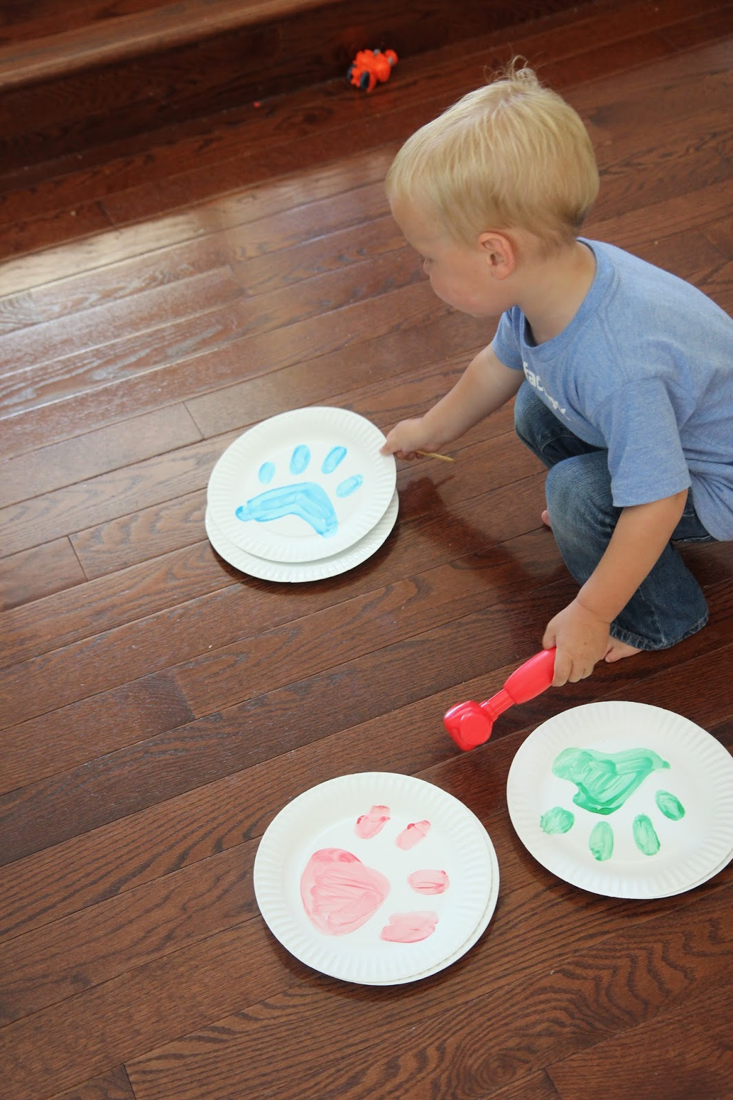 Toddler Approved Paw Print Hunt Amp Match Game For Toddlers